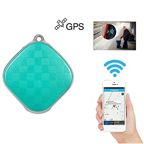 Hangang Mini Safety locator Micro A9 GPS Tracker Wifi Positioning Tracker Multifunction tracker Locator GPS+LBS Dual Modes Locating Device Tracking SOS Alarm Voice Monitoring For Vehicle,Elderly,Kids