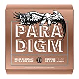 Best Ernie Ball String Lights - Ernie Ball 2076 Phosphor Bronze Paradigm Acoustic, Medium-Light Review