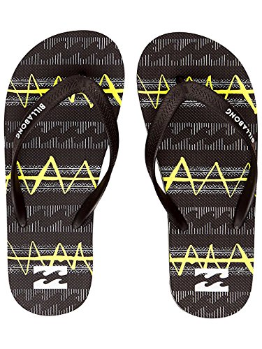 Billabong Tides Boy, Zapatos de Playa y Piscina Niño, Amarillo (Yellow), 38 EU Amarillo (Yellow)