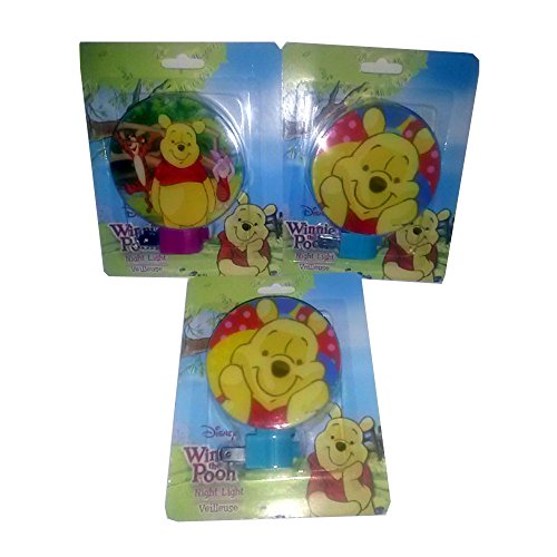 Winnie The Pooh Night Lights - Pack of ()