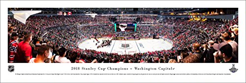 (2018 Stanley Cup Champions - Washington Capitals - Unframed NHL Poster by Blakeway Panoramas)