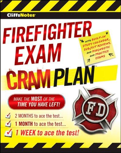 CliffsNotes Firefighter Exam Cram Plan (CliffsNotes (Paperback))