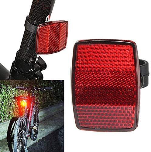 NuanNuan 10 Piezas Reflector de Bicicleta Lamina Reflectante Moto ...