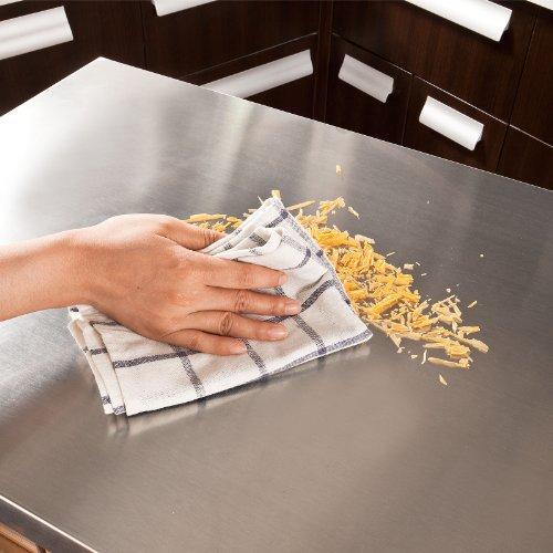 SoBuy® Küchenwagen Aus Hochwertigem Bambus Mit