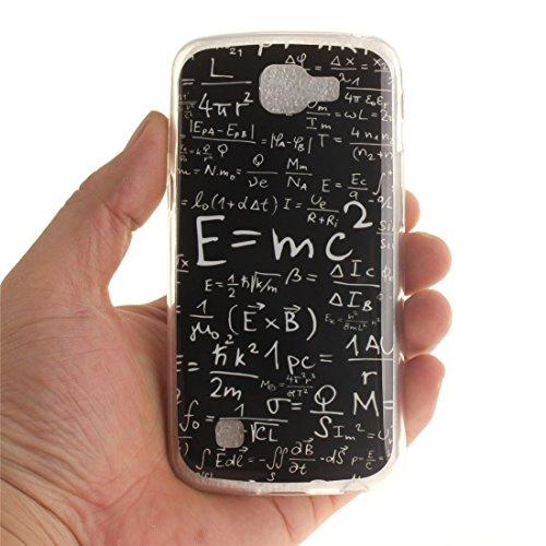Hozor Cas De Protection Bord Résistant Téléphone En Silicone Peint K4 Fit Cas equation Antichoc TPU Souple Motif Couverture Scratch Slim De Arrière LG Transparent raxTqRr