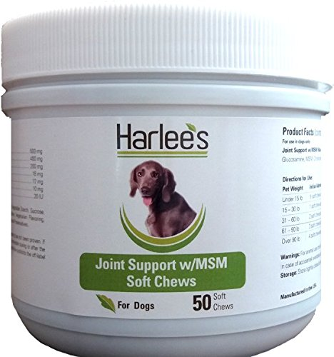 Harlee's Joint Support w/MSM Max Strength Soft Chews (50ct.)
