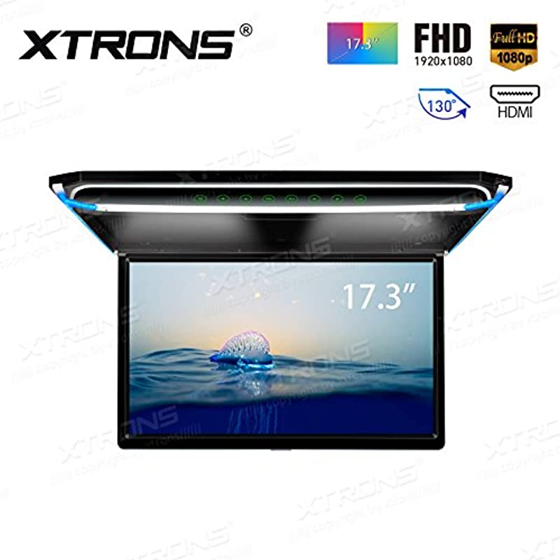 XTRONS 최신형 17.3인치 차량용 monitor
