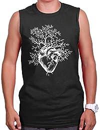 Sprouting Heart Shirt   Spirit Animal ZEN Garden Mystic Truth Sleeveless Tee
