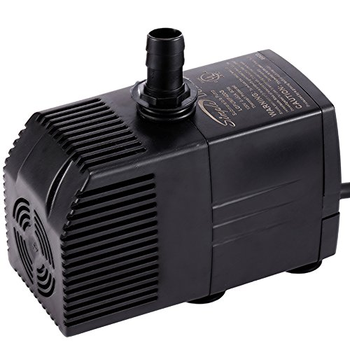 Simple Deluxe 400 GPH UL Listed Submersible Pump with 15'...