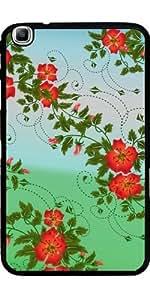 Funda para Samsung Galaxy Tab3 8.0 SM-T310 - Floral