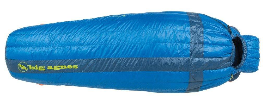 【人気商品!】 Big Agnes - with UL Mystic UL 15 Sleeping [並行輸入品] Bag with DownTek Fill, Blue, Long Right [並行輸入品] B07R3Z25J9, 蛍光灯屋 丸徳:d8cdb000 --- cygne.mdxdemo.com