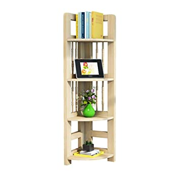 Amazon.com: Bookshelf Modern Corner Shelves Living Room ...