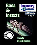 ViewMaster Discovery Channel - Bugs, into the insect world - 3 Reels on Card - NEW