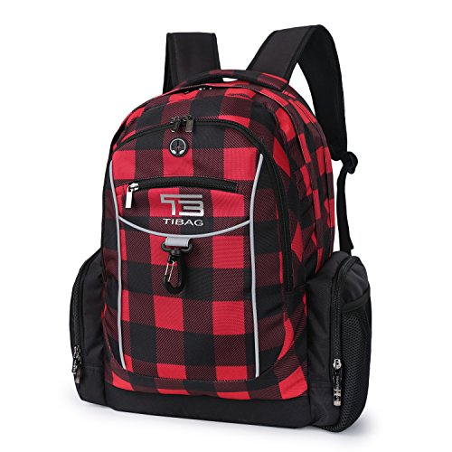 Water Resistant College School Student Laptop Computer Backpack Bag for Women or Men