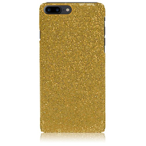 Xtra-Funky Reihe iPhone 7 / 8 PLUS brillantes caso del brillo chispeante de lentejuelas del brillo - Púrpura Oro