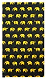 Yellow Elephants Cotton Guest Check Presenter, Check Book Holder for Restaurant, Credit Card Holder, Check Pad Holder, Waitstaff Organizer, Server Book for Waitress with Money Pocket, Waiters Book. U
