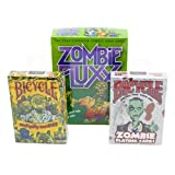 Zombie Fluxx, Bicycle Zombie & Everyday Zombies Playing Cards Combo Pack!