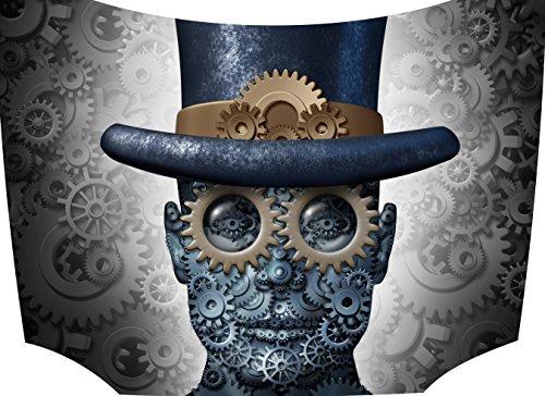 Bonnet Sticker Steampunk 1: