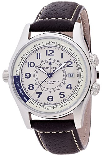 HAMILTON watch Khaki UTC H77525553 Men's [regular imported goods]