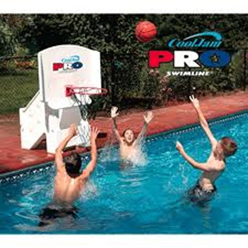 Swimline Cool Jam Pro Poolside Basketball Super-Wide by Swimline
