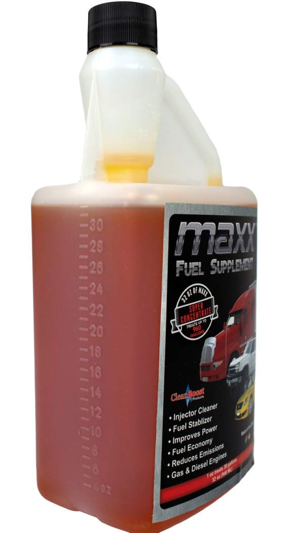 Amazon.com: CleanBoost® Maxx™ 32oz Fuel Treatment for Gas & Diesel Fuel - Treats 960 Gallons: Automotive