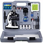 Amazon #DealOfTheDay: 40% off on AmScope Kids 52-Piece Microscope Kit