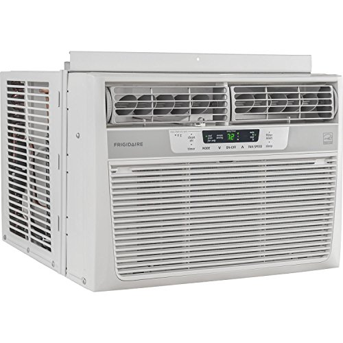 Frigidaire 10 000 btu 115v window mounted compact air for 115v window air conditioner with heat