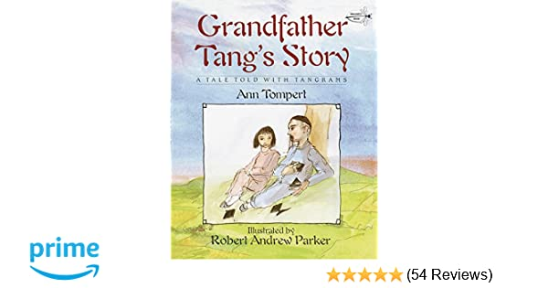 Grandfather Tangs Story Dragonfly Books Ann Tompert Robert