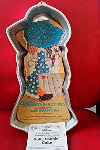 Wilton Holly Hobbie Girl Doll Cake Pan (502-194, 1975) (Holly Cake)