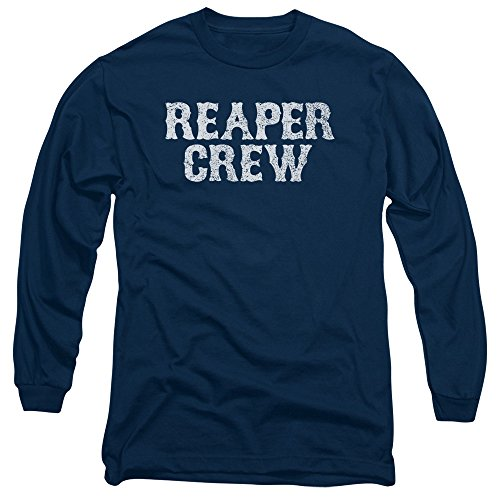 Sons of Anarchy TV Show Reaper Crew Adult Long Sleeve T-Shirt Tee