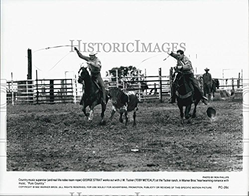 """1992 Beseech Photo """"Pure Country"""" George Strait & Toby Metcalf - DFPG77443"""