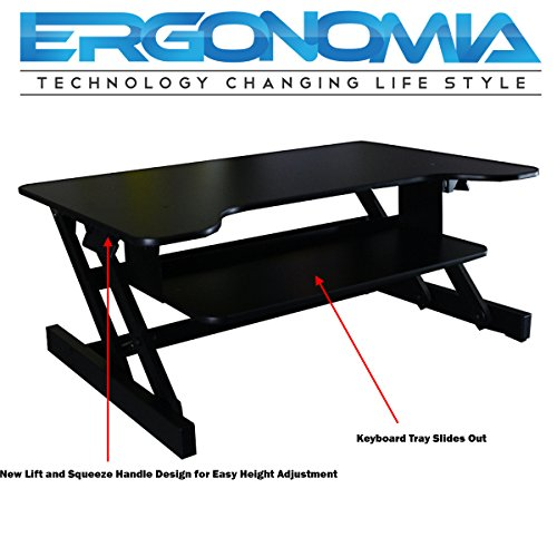 Ergonomia Height Adjustable Standing Sit To Stand Desk