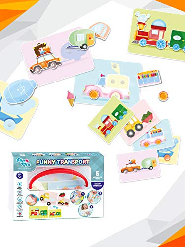 - Picnmix Games for Toddlers. Funny Transport Puzzles for Kids Ages 2 to 4. Puzzles for Toddlers and Memory Games for Kids 3 and up. Preschool Learning Toys and Educational Board Baby Games
