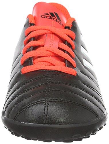 adidas Copaletto Tf J, Botas de Fútbol Unisex Niños Negro - Schwarz (schwarz/Weiß/Rot)
