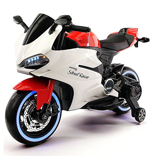 2017 DUCATI RACER STYLE Kids Ride On Car Toy Motorcycle 12V Battery Powered | RED