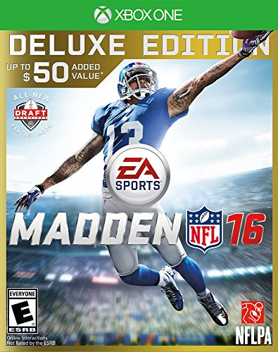 Madden NFL 16 - Deluxe Edition - Xbox One (Xbox 360 Games Football 2015)