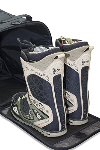 Shred Soles Snowboard Ski Boot Bag Pack with Changing Mat, Helmet & Goggle Pocket by Shred Soles (Image #1)