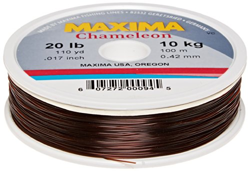 Maxima fishing line mini pack chameleon 20 pound 110 for Maxima fishing line