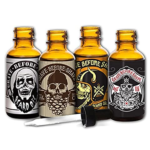 Grave Before Shave™ Beard Oil 4 Pack (Shave Viking)