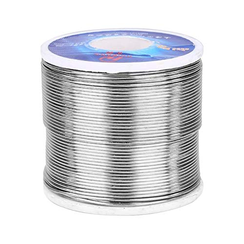 Jammas 500g/roll Tin Wire Lead Solder Wire Flux Reel Welding Line Welding Wires 0.8mm/1.0mm/2.0mm - (Diameter: 1.0mm)