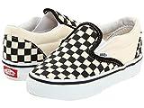 Vans Unisex Baby Classic Slip-On - Black/White Checkerboard Size 6 Toddler
