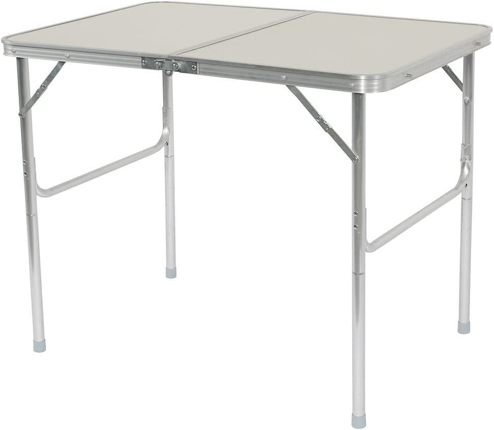 Outdoor Lightweight Desk Portable Folding Table Aluminum Alloy for Camping BBQ