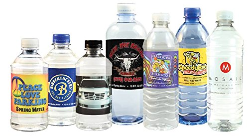 Custom Labeled Bottle Water - 84 Cases of 12oz Bottles, 24 Bottles per Case, Pallet Pricing (Please read our shipping policy regarding palletized shipments)