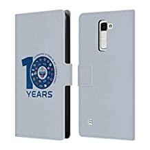 Official NFL Light 2017 London Games 10 Years Leather Book Wallet Case Cover For LG K3 (2017)