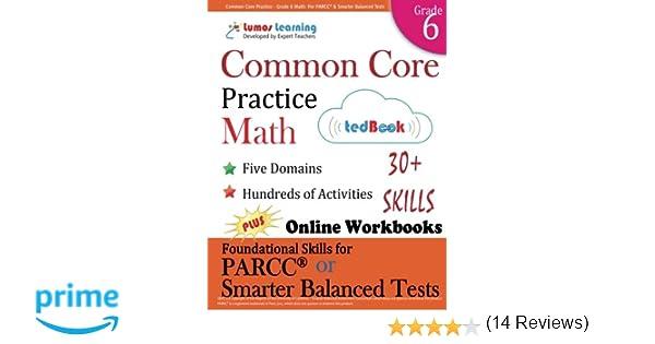 Common Core Practice - Grade 6 Math: Workbooks to Prepare for the ...