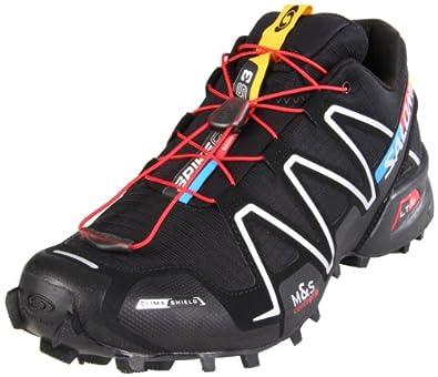 Salomon Spike Cross 3 CS 120554, Men's Running Shoes Black