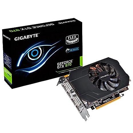 Gigabyte NVIDIA GeForce GTX 970 - Tarjeta gráfica (4096 x 2160 píxeles, 4 GB, GDDR5-SDRAM, 256 bit)