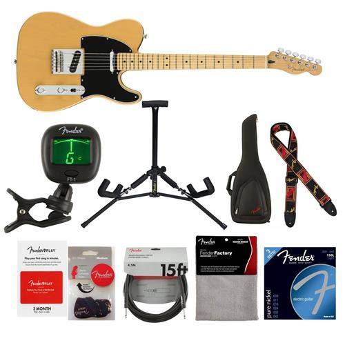 Fender Player Telecaster Electric Guitar, 22 Frets, Modern