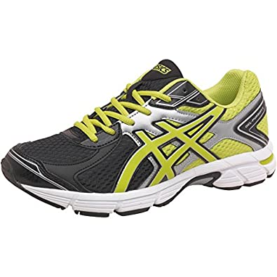 59b2f97362a5 Mens Asics Gel Pursuit 2 Neutral Running Shoes Black Lime Silver Guys  Gents  Amazon.co.uk  Shoes   Bags