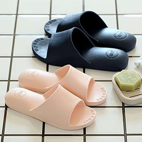 TELLW Bathroom Slippers for Male Female Summer Home Indoor Anti-Slip Thick Bottom Cool Slippers Women Green hVGq1